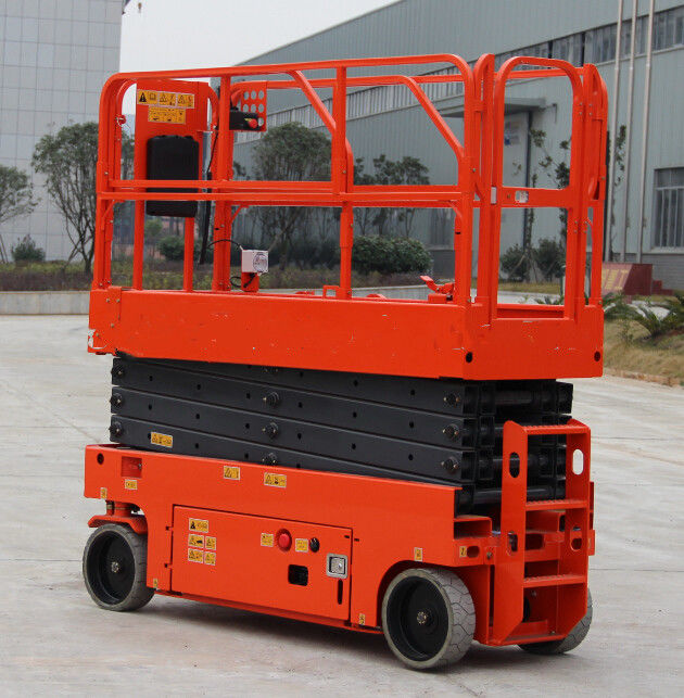 Movable Electric Aerial Work Platform Commercial Electric Hydraulic Scissor Lift