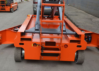 An toàn Single Man Electric Scissor Lift, Motorized Scissor Lift 25ft